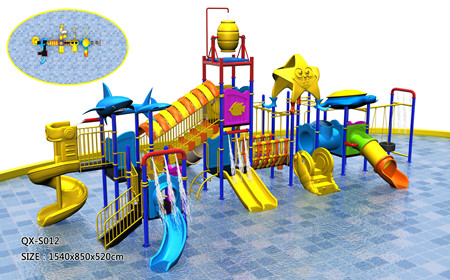 Qx S012 Amusement Park Water Slide 1500 15000 Set Children
