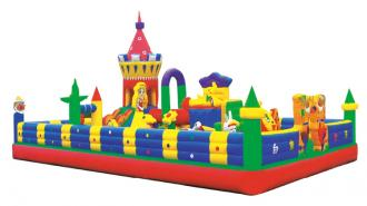 QX-112A  snow white inflatable bouncers