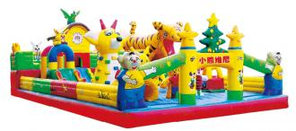 QX-112C animals theme inflatable bounce