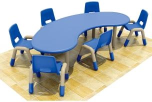 QX-193F kids schooltables and chairs