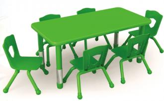 QX-195D Adjustable kids table and chair
