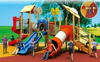 QX-074C Wooden outdoor playground $1500-15000/set