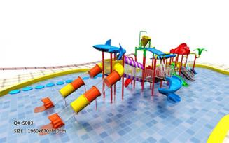 QX-S003 water park slide $1500-15000/set
