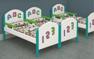 QX-197F kids wooden beds $40-$50/set