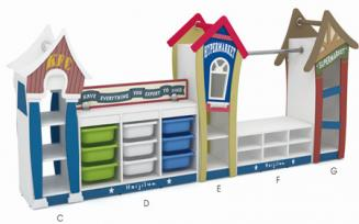 QX-199B  kids toy cabinet $200-$400/set