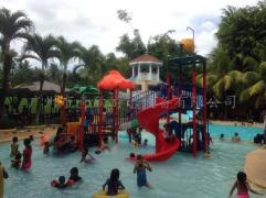 Outdoor water park equipment in Philippines